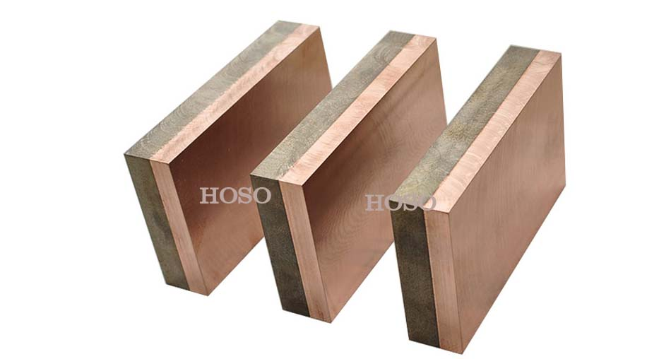 copper tungsten bi-metal