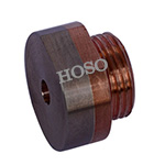 10w3 face nut electrode