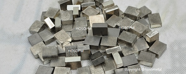 Metal silver tungsten carbide block